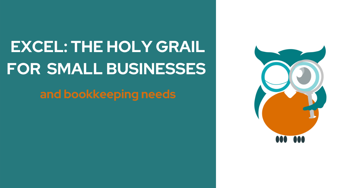 Excel for small businesses and bookkeeping